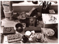 A view of Edward Gorey\'s desk by Kevin McDermott