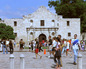 The Alamo in San Antonio Texas
