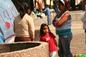Crianças de Vera Cruz  na Cidade do México com seu