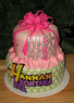 Hannah Montana/High School Musical cake