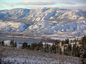 Kamloops Lake Snow 2005-11-26