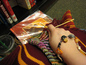 Knitting at the Harry Potter Book Party
