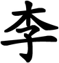Li Chinese Family Name