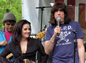 Lisa Marie Presley & Marky Ramone @ City Hall, NYC