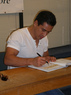 Mario Lopez at Book Passage