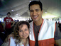 Me & Mario Lopez ~ Orange Show Shelter