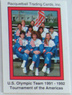 Racquetball Trading Card - US Olympic Team - 1991