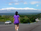 Snow on Mauna Kea Volcano