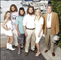 "The cast of ABC's new sitcom ""Cavemen,"""