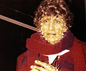 Tom Baker (as Dr Who) waxwork at Madame Tussauds i