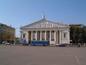 Voronezh opera-ballet theatre on Lenin square in t