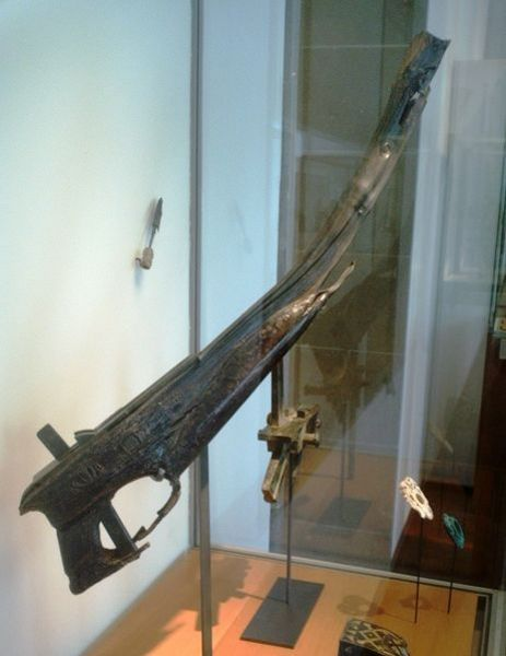 Ancient Chinese crossbow (2nd century BCE).