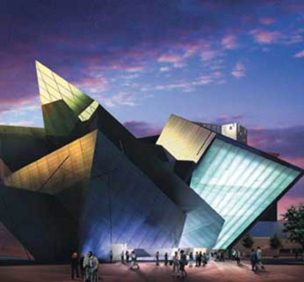 Denver Art Museum: Colorado Tourism Info: Denver Art Museum