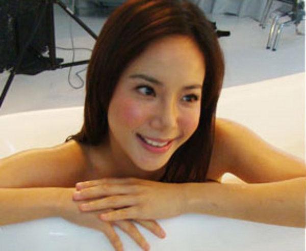 bathing trisha ...