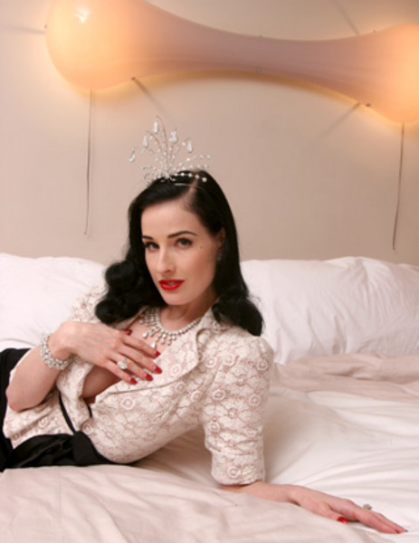 dita von teese engagement ring from marilyn manson was a