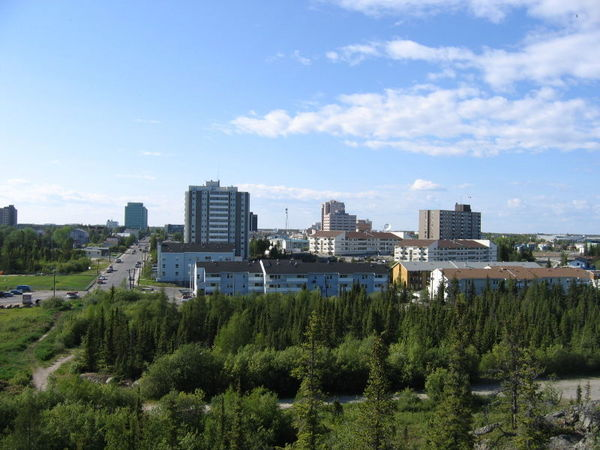 Downtown Yellowknife (b)