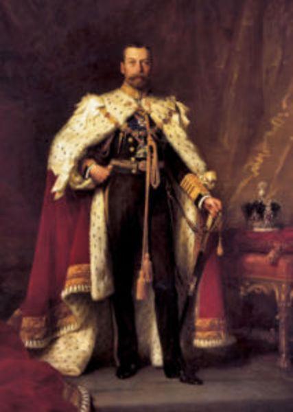 HRH King George V