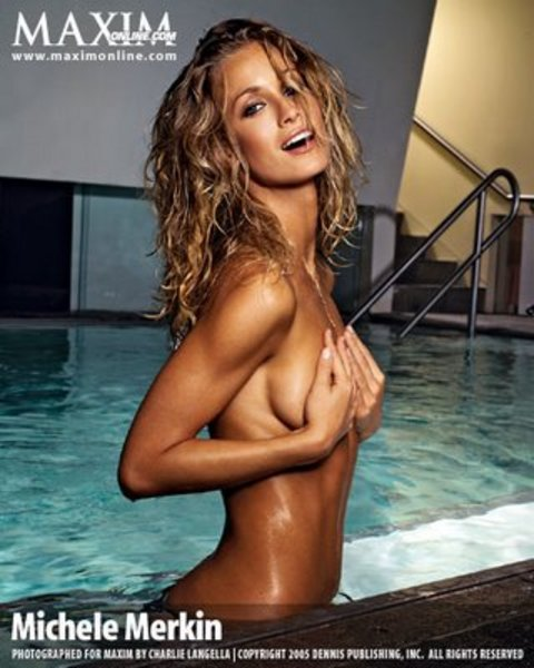 Michele Merkin  nackt