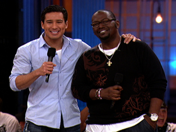 Randy Jackson and Mario Lopez