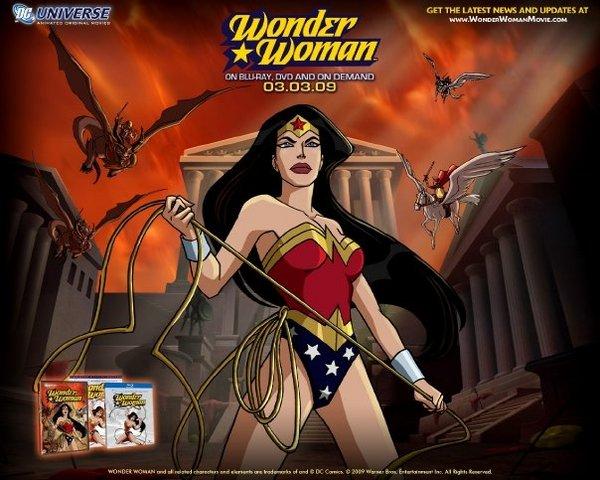 Wonder Woman Animated Movie