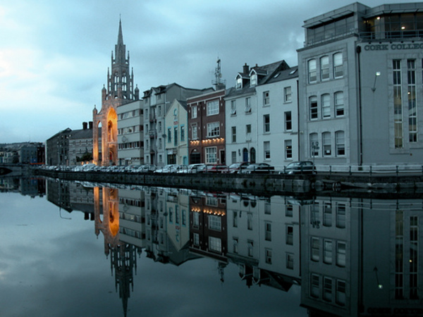 Nightfall Cork Ireland