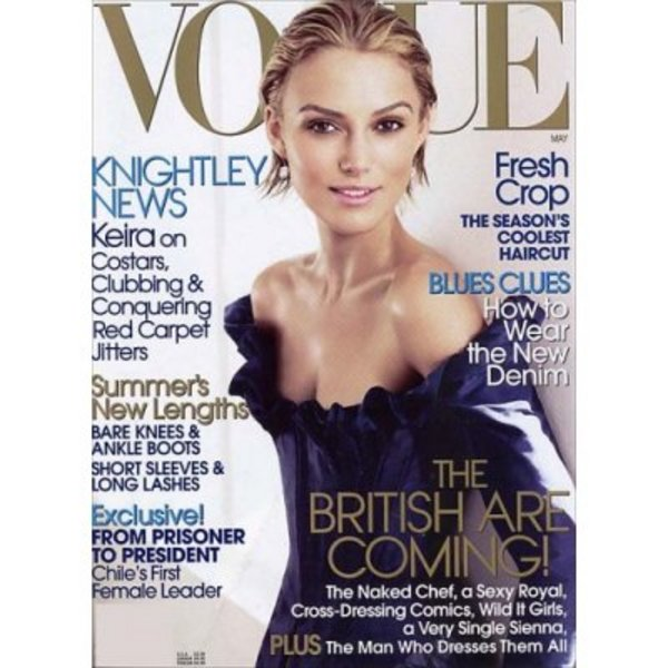 Vogue Magazine, Keira Knightley